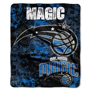 Orlando Magic Royal Plush Throw